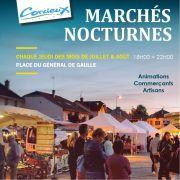 Marchés Nocturnes à Corcieux 88430 Corcieux du 02-07-2020 à 18:00 au 27-08-2020 à 22:00