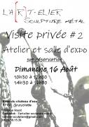 Visite Atelier Expo Sculpture Métal à Gravelotte 57130 Gravelotte du 16-08-2020 à 10:30 au 16-08-2020 à 16:00