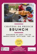 Brunch au Château de Preisch 57570 Basse-Rentgen du 23-08-2020 à 11:00 au 23-08-2020 à 14:00