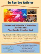 Rue des Artistes à Longwy 54400 Longwy du 05-09-2020 à 10:00 au 06-09-2020 à 18:00