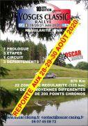 Vosges Classic Rallye 88100 Saint-Dié-des-Vosges du 28-08-2020 à 13:30 au 30-08-2020 à 18:00