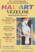 Salon de Peinture Hal'Art à Vézelise 54330 Vézelise du 18-09-2020 à 18:30 au 27-09-2020 à 18:00