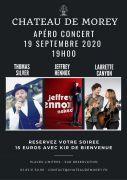Apéro Concert au Château de Morey  54610 Belleau du 19-09-2020 à 19:00 au 19-09-2020 à 21:00