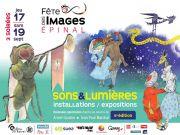 Fête des Images à Épinal Son et Lumière  88000 Epinal du 17-09-2020 à 10:00 au 19-09-2020 à 22:00