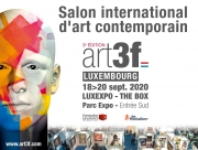Art3f Salon International d'Art Contemporain à Luxembourg LUXEXPO - THE BOX