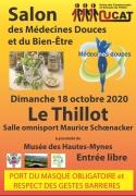 Salon des Médecines Douces Bien-Être Le Thillot 88160 Le Thillot du 18-10-2020 à 10:00 au 18-10-2020 à 17:30