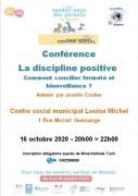 Conférence Discipline Positive à Guénange 57310 Guénange du 16-10-2020 à 20:00 au 16-10-2020 à 22:00