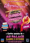 La Hayangeoise Concert Claude François à Hayange 57700 Hayange du 03-10-2020 à 20:30 au 03-10-2020 à 22:30