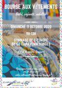 Bourse aux Vêtements Capavenir Vosges 88150 Thaon-les-Vosges du 11-10-2020 à 09:00 au 11-10-2020 à 13:00