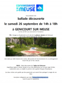 Balade Découverte à Génicourt 55320 Génicourt-sur-Meuse du 26-09-2020 à 14:00 au 26-09-2020 à 18:00