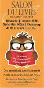 Salon du Livre Occasion ou Neuf à Phalsbourg 57370 Phalsbourg du 04-10-2020 à 09:00 au 04-10-2020 à 17:30
