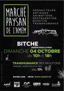 Marché Paysan à Bitche 57230 Bitche du 04-10-2020 à 10:00 au 04-10-2020 à 18:00