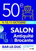 Salon des Antiquaires à Bar-le-Duc 55000 Bar-le-Duc du 09-10-2020 à 10:00 au 11-10-2020 à 19:00