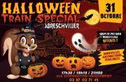 Halloween à Abreschviller Train Spécial