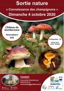 Sortie Champignons au Château de Gombervaux Vaucouleurs 55140 Vaucouleurs du 04-10-2020 à 14:00 au 04-10-2020 à 17:00