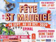 Fête de la Saint Maurice à Épinal  88000 Epinal du 26-09-2020 à 14:00 au 18-10-2020 à 21:00