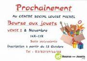 Bourse aux Jouets à Guénange 57310 Guénange du 08-11-2020 à 14:00 au 08-11-2020 à 17:00