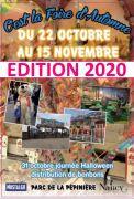 Foire d'Automne à Nancy 54000 Nancy du 22-10-2020 à 13:30 au 15-11-2020 à 19:00