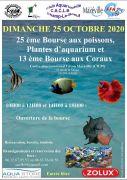 Bourse Aquariophile à Laxou 54520 Laxou du 25-10-2020 à 10:00 au 25-10-2020 à 18:00