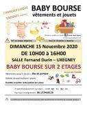 Bourse Vêtements et Jouets à Uxegney 88390 Uxegney du 15-11-2020 à 10:00 au 15-11-2020 à 16:00