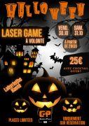Soirée Lasergame Halloween à Chavelot 88150 Chavelot du 30-10-2020 à 21:30 au 01-11-2020 à 02:00
