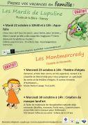 Animations Enfants Vacances Toussaint à Montmédy 55600 Montmédy du 22-10-2020 à 10:30 au 30-10-2020 à 16:00