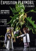 Exposition Playmobil Plantes Légendes Jardin Botanique Nancy