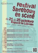 Festival de Théâtre Sarrebourg en Scène 57400 Sarrebourg du 21-10-2020 à 10:30 au 25-10-2020 à 20:00