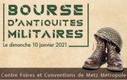 Bourse Antiquités Militaires Metz 57000 Metz du 10-01-2021 à 09:00 au 10-01-2021 à 17:00