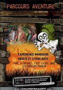 Parcours Aventure Halloween Manoir Maudit Laval-sur-Vologne 88600 Laval-sur-Vologne du 23-10-2020 à 14:30 au 01-11-2020 à 17:00