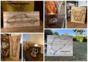 Idée Cadeau Tableau Bert Décoration Bois 57860 Montois-la-Montagne du 29-10-2020 à 10:00 au 31-12-2020 à 12:00