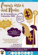 Ecrire à Saint Nicolas St Nicolas de Port 54210 Saint-Nicolas-de-Port du 16-11-2020 à 07:00 au 02-12-2020 à 00:00
