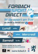 Séances de Sport en Direct Forbach 57600 Forbach du 26-11-2020 à 09:00 au 01-01-2021 à 10:00