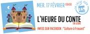 Heure du conte en Ligne Frouard 54390 Frouard du 17-02-2021 à 10:00 au 17-02-2021 à 10:30