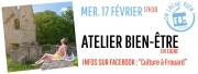 Atelier Bien-Être en Ligne Frouard 54390 Frouard du 17-02-2021 à 17:30 au 17-02-2021 à 18:30