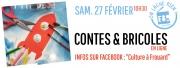 Contes et Bricoles en Ligne Frouard 54390 Frouard du 27-02-2021 à 10:30 au 27-02-2021 à 11:00
