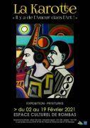 Il y a de l'Amour dans l'Art Exposition à Rombas 57120 Rombas du 02-02-2021 à 10:00 au 19-02-2021 à 18:00