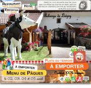 Menu Pâques Gérardmer à Emporter Auberge Liezey 88400 Liézey du 02-04-2021 à 10:00 au 05-04-2021 à 18:00