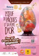 L'Oeuf de Pâques et sa Pépite d'Or à gagner Metz, Marly du 15-03-2021 à 10:00 au 03-04-2021 à 20:00