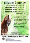 Balades à Poney à Saint-Avold 57500 Saint-Avold du 11-04-2021 à 14:00 au 25-04-2021 à 16:00