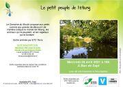 Stage Découverte Peuple de l'Étang à Ban-de-Sapt 88210 Ban-de-Sapt du 28-04-2021 à 16:00 au 28-04-2021 à 18:00