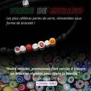 Idée Cadeau Fête des Mères Bracelets Verre de Murano 54120 Baccarat du 27-04-2021 à 10:00 au 02-06-2021 à 20:00