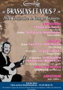 Centenaire Georges Brassens à Contrexéville 88140 Contrexéville du 30-04-2021 à 10:00 au 31-12-2021 à 20:00