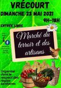 Marché du Terroir et des Artisans de Vrécourt  88140 Vrécourt du 23-05-2021 à 09:00 au 23-05-2021 à 18:00