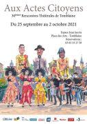 Aux Actes Citoyens Théâtre à Tomblaine 54510 Tomblaine du 25-09-2021 à 20:30 au 02-10-2021 à 23:00