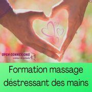 Formation Massage Déstressant des Mains à Lessy