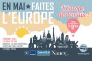 Mai de l'Europe à Nancy 54000 Nancy du 01-05-2021 à 10:00 au 31-05-2021 à 20:00