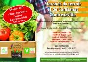 Marché du Terroir et de l'Artisanat de Contrexéville 88140 Contrexéville du 28-05-2021 à 15:00 au 24-09-2021 à 21:00