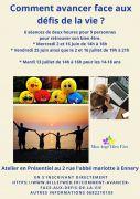 Ateliers avancer face aux défis de la vie à Ennery 57365 Ennery du 02-06-2021 à 14:00 au 16-07-2021 à 21:00