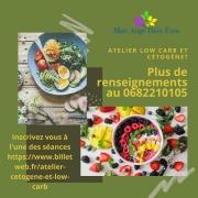 Ateliers Alimentation Low Carb et Cétogène à Ennery 57365 Ennery du 03-06-2021 à 12:00 au 17-07-2021 à 18:00